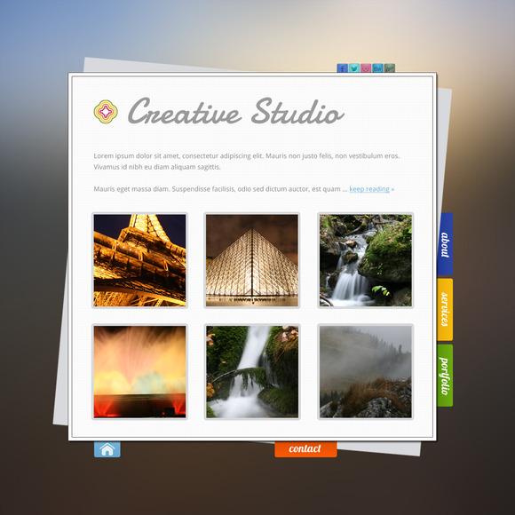 Creative Portfolio PSD