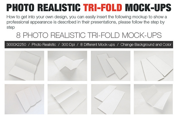 Photo Realistic Tri-Fold BROCHURE