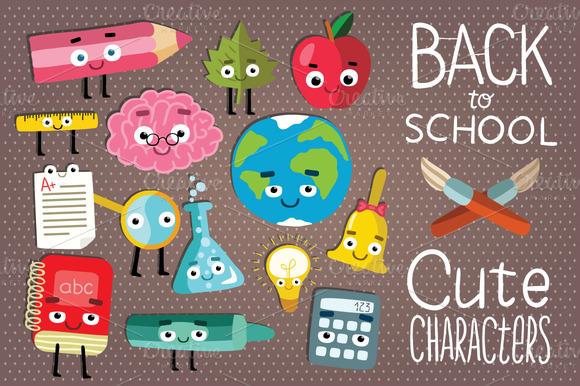 Cute School Set