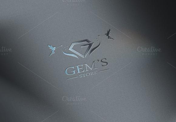 Gems Store Logo