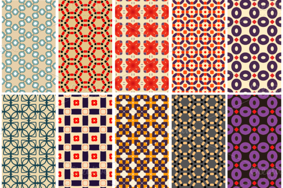 10 Retro Patterns