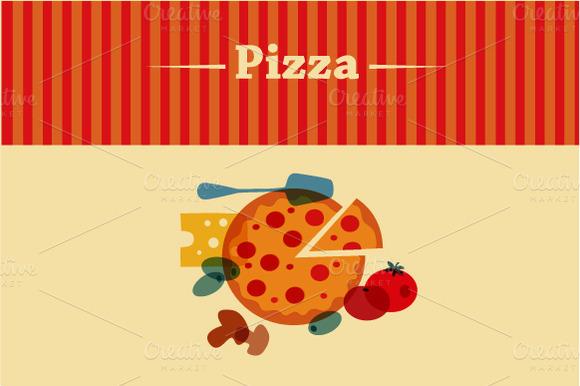 Template Of Pizza Menu