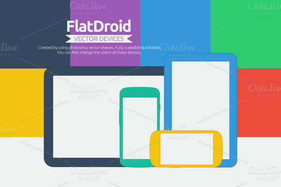 Flatdroid Vector Devices