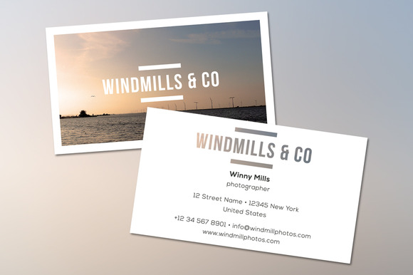 Windmills Business Card