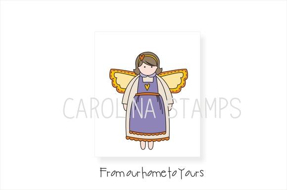 Home Angel Digital Stamp