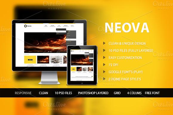 Neova PSD Theme
