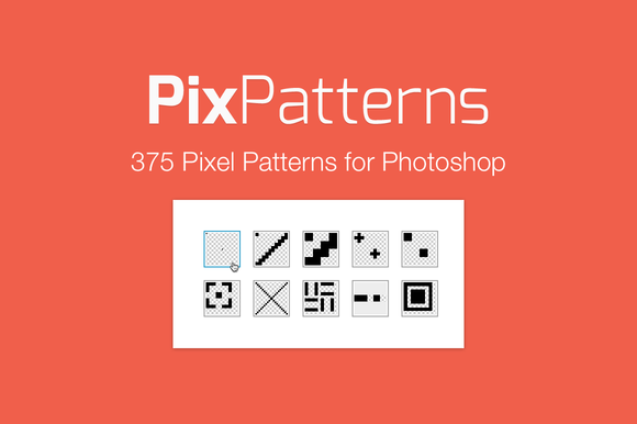 Pix Patterns 375 Pixel Patterns