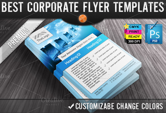 Business Computers Flyers Templates