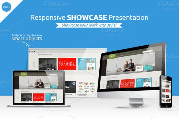 Responsive Showcase Presentation V2