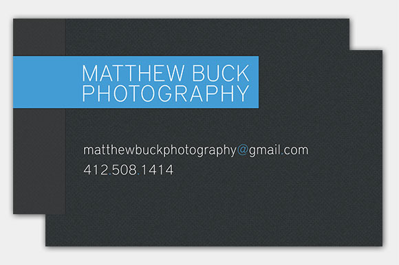 Professional Sleek Business Cards