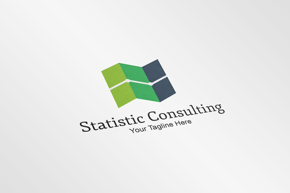 Statistic Consulting Logo Template