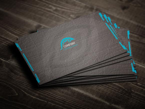 Qr Corporate Business Card