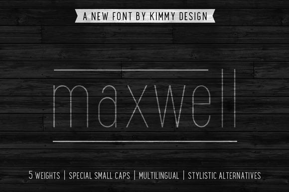 Maxwell Sans ALL