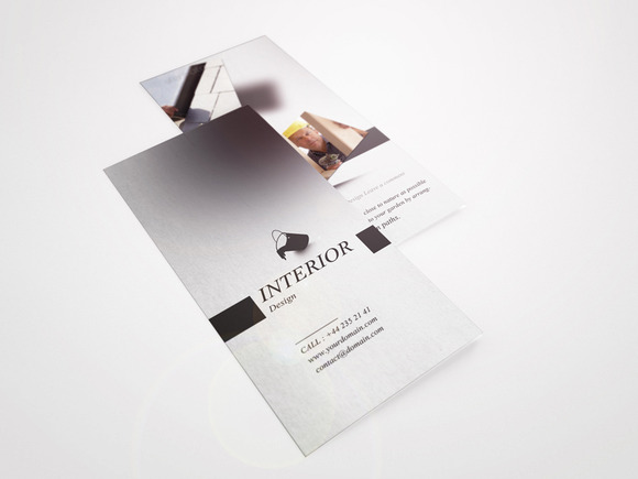 Interior Tri-fold Brochure