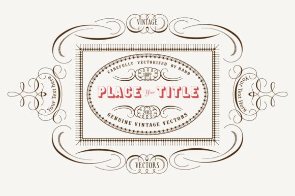 Vintage Vector Labels N��3