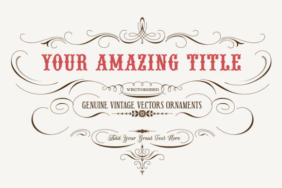 Vintage Vector Labels NЎг4