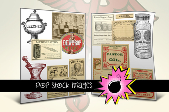 Apothecary Vintage Medical Images