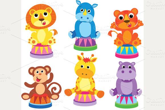 Animals At The Circus