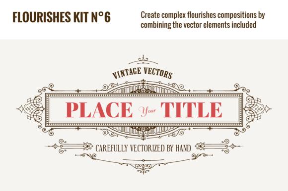 Flourishes Vector Kit NЎг6