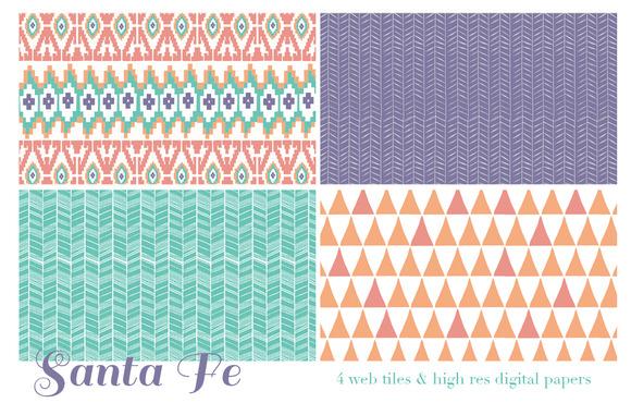 Santa Fe Web Tiles High Res Digita