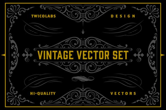 Vintage Vector Set 1