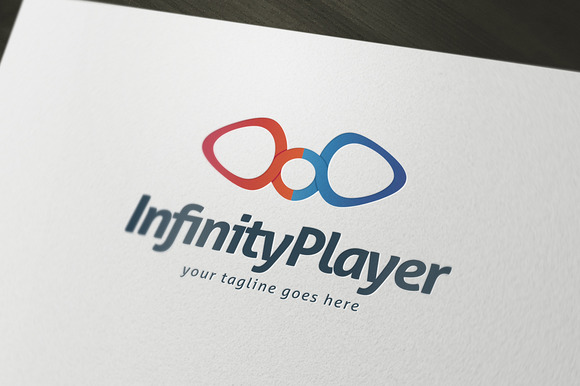 Infinity Player Logo Template