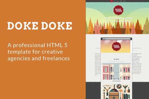 Doke Doke HTML 5 Template