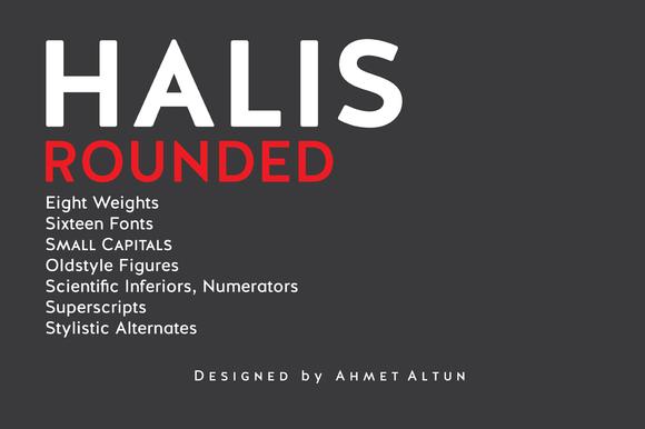 Halis Rounded-90%oOFF