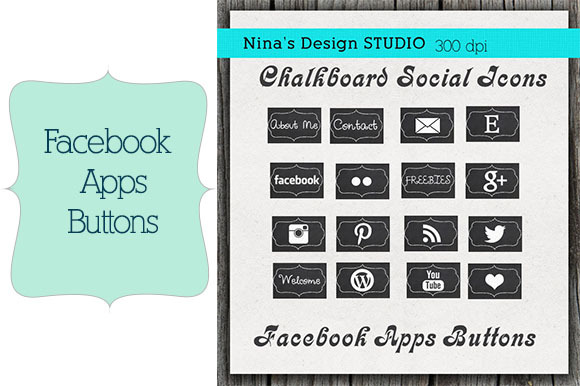 Chalkboard Facebook Apps