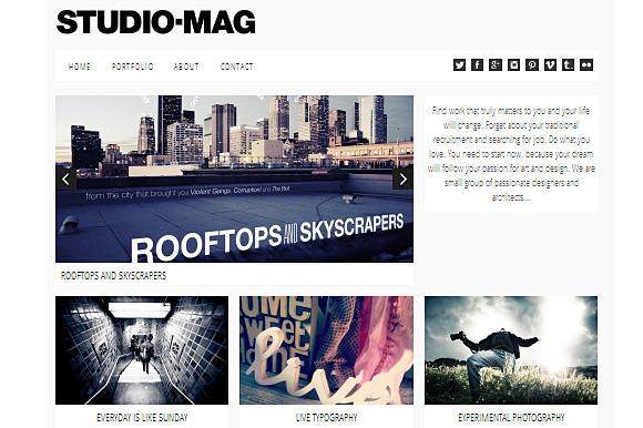 Studio Mag Responsive Theme