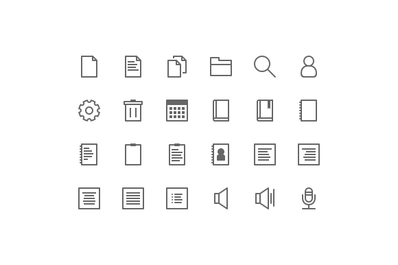 Cosmicons 138 Line Icons
