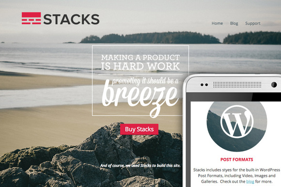 Stacks A Smart Theme For WordPress