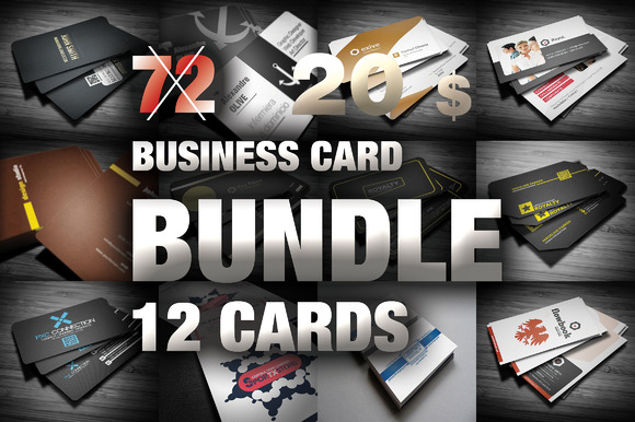 MEGA BUNDLE BUSINESS CARD 12 In 1