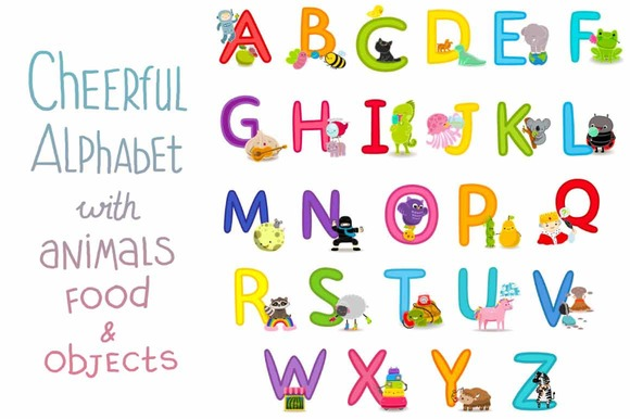 Cheerful Alphabet