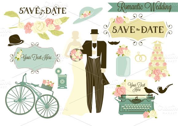 Romantic Wedding Blue