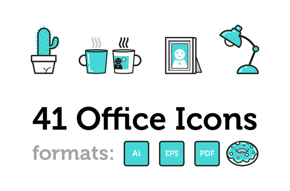 41 Office Icons