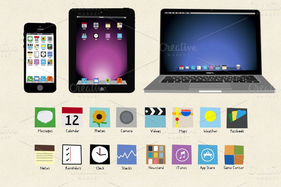 Sketch Iphone Ipad Macbook