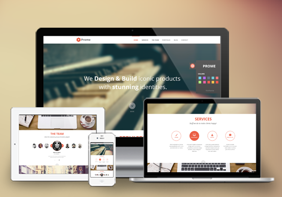 Prome Onepage WordPress Theme