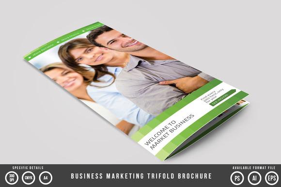 Business Marketing Trifold Brochure