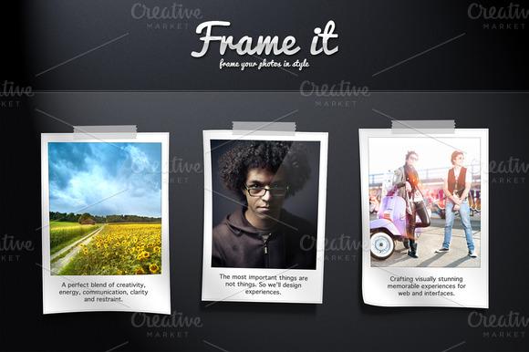Frame It Mockup