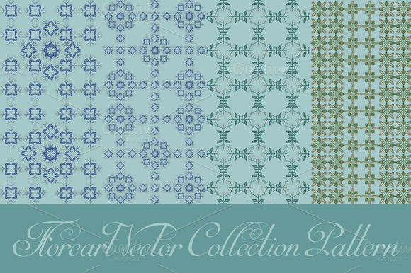 Floreart Vector Collection Pattern