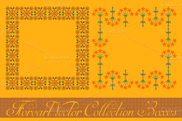 Floreart Vector Collection Boxes