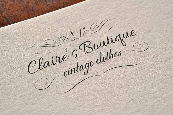 Elegant Fashion Boutique Logo