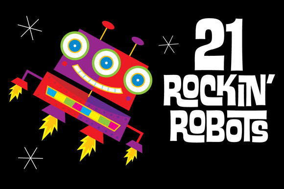 21 Rockin Robots