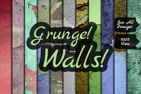 11 Grunge Walls