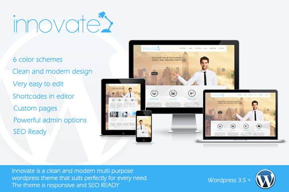 Innovate-Responsive Wordpress Theme