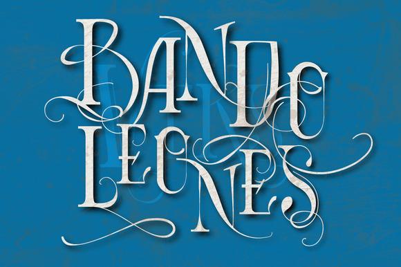 Bandoleones Vtks Font