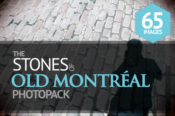 The Stones Of Old Montreal PhotoPack