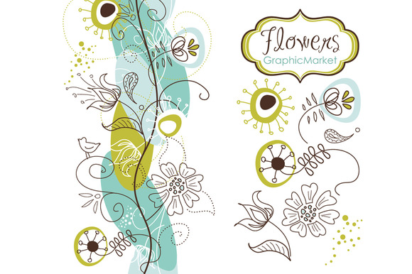 14 Flowers And A Floral Borders