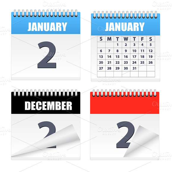 Calendars Icons